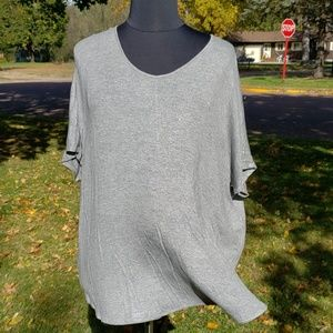 Maurice's plus shimmering dolman tee